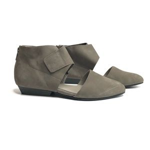 Eileen Fisher Shoes - Eileen Fisher Calia Leather Ankle Cuffed Flats